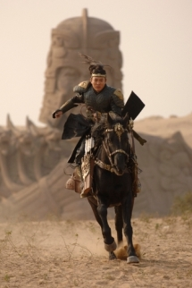 Finally! A Chinese warrior who cannot fly.