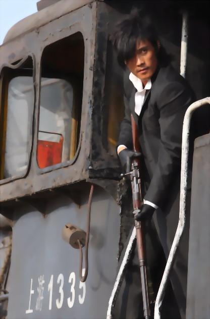 Train robbers: damn cool.
