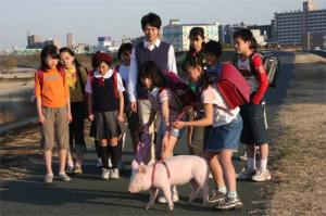 The pig farm they visited didn't know they're missing a little piglet...