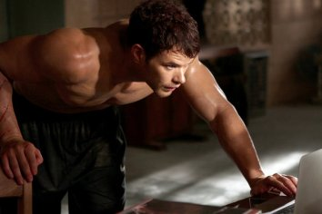 A shirtless scene was a prerequisite in his contract.