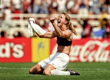 The most famous sports bra in history.